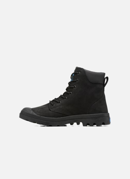 Ankle boots Palladium Pampa Cuff WP LUX M Black front view