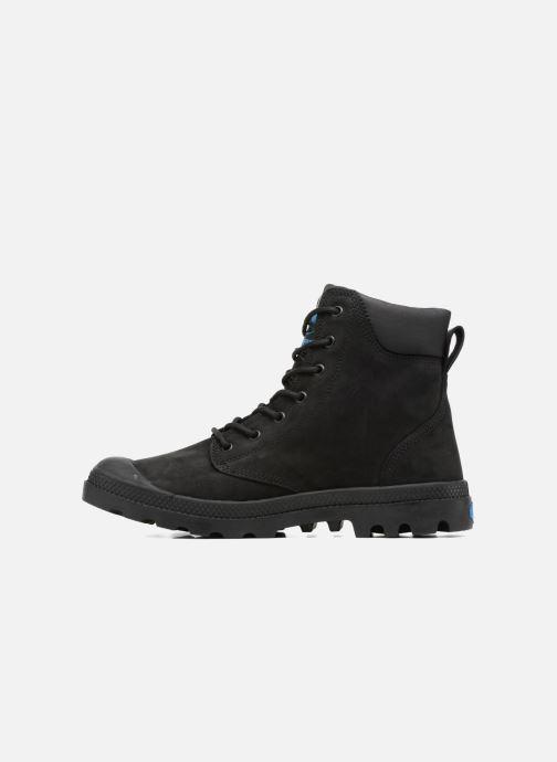Bottines et boots Palladium Pampa Cuff WP LUX M Noir vue face