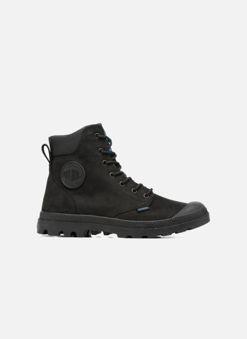 Ankle boots Palladium Pampa Cuff WP LUX M Black back view