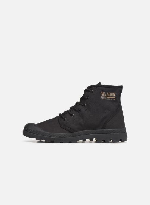 Sneaker Palladium Pampa Hi Originale TC schwarz ansicht von vorne