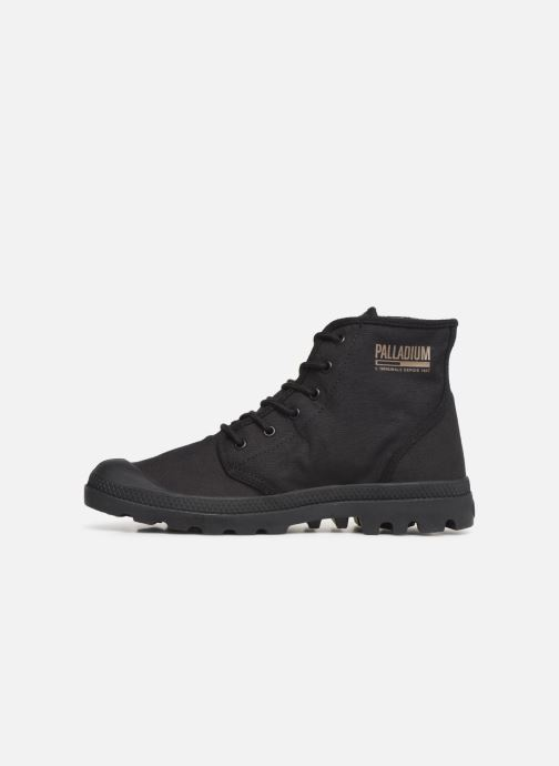 Baskets Palladium Pampa Hi Originale TC Noir vue face
