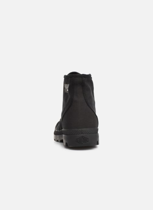 Trainers Palladium Pampa Hi Originale TC Black view from the right