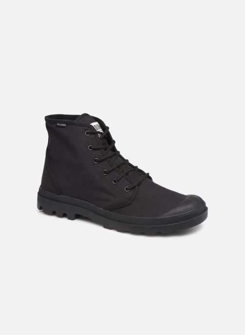 Baskets Palladium Pampa Hi Originale TC Noir vue détail/paire