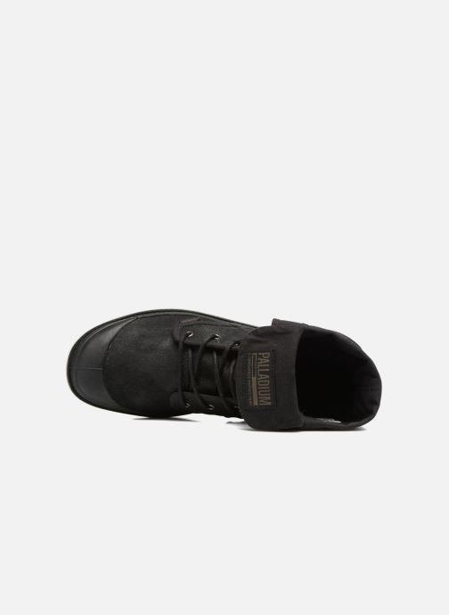 Sneakers Palladium Pallabrouse BGY Wax Nero immagine sinistra