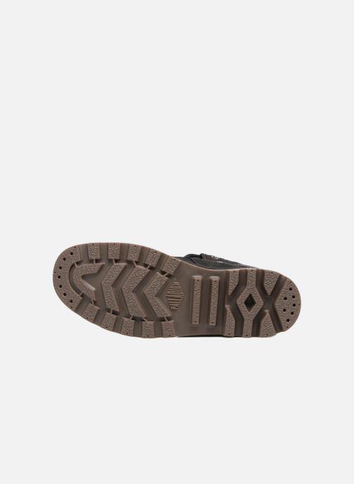 Sneakers Palladium Pallabrouse BGY Wax Nero immagine dall'alto