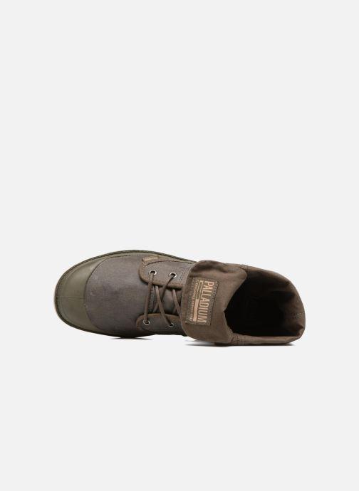 Sneakers Palladium Pallabrouse BGY Wax Marrone immagine sinistra