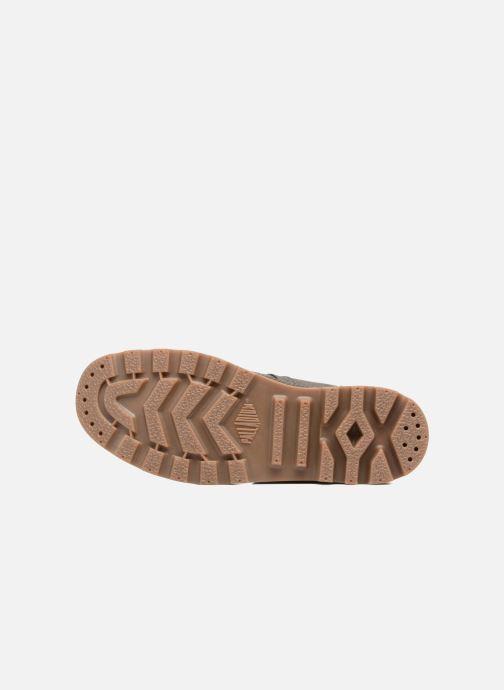 Sneakers Palladium Pallabrouse BGY Wax Marrone immagine dall'alto