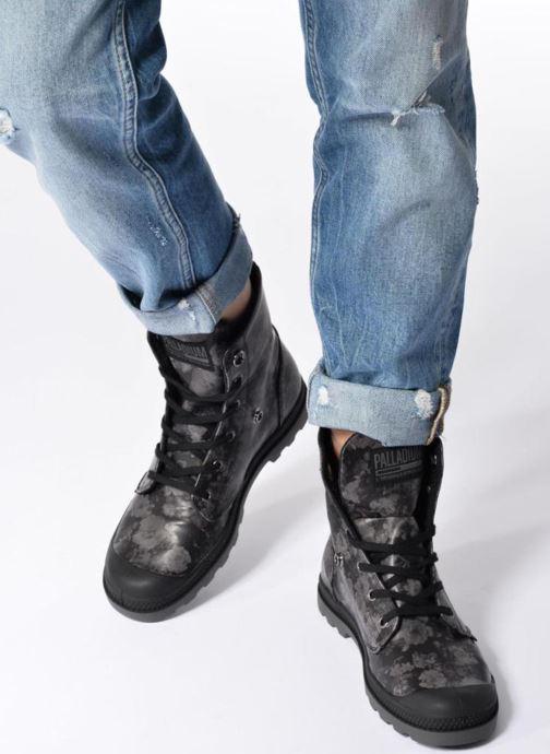 Palladium Baggy Low Lp Flower (Noir) Bottines et boots