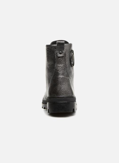 Stiefeletten & Boots Palladium Pallabosse OFF Lea schwarz ansicht von rechts