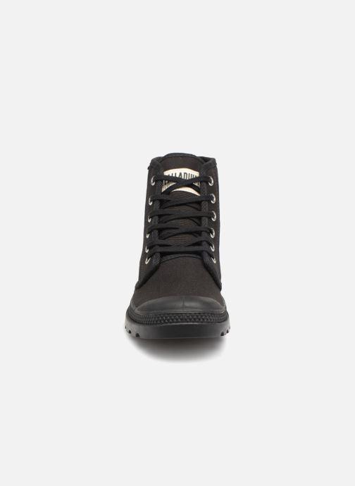 Sneaker Palladium Pampa Hi Orig U F schwarz schuhe getragen