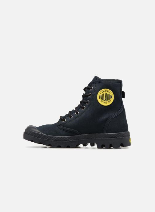 Sneaker Palladium Pampa Fest Pack schwarz ansicht von vorne