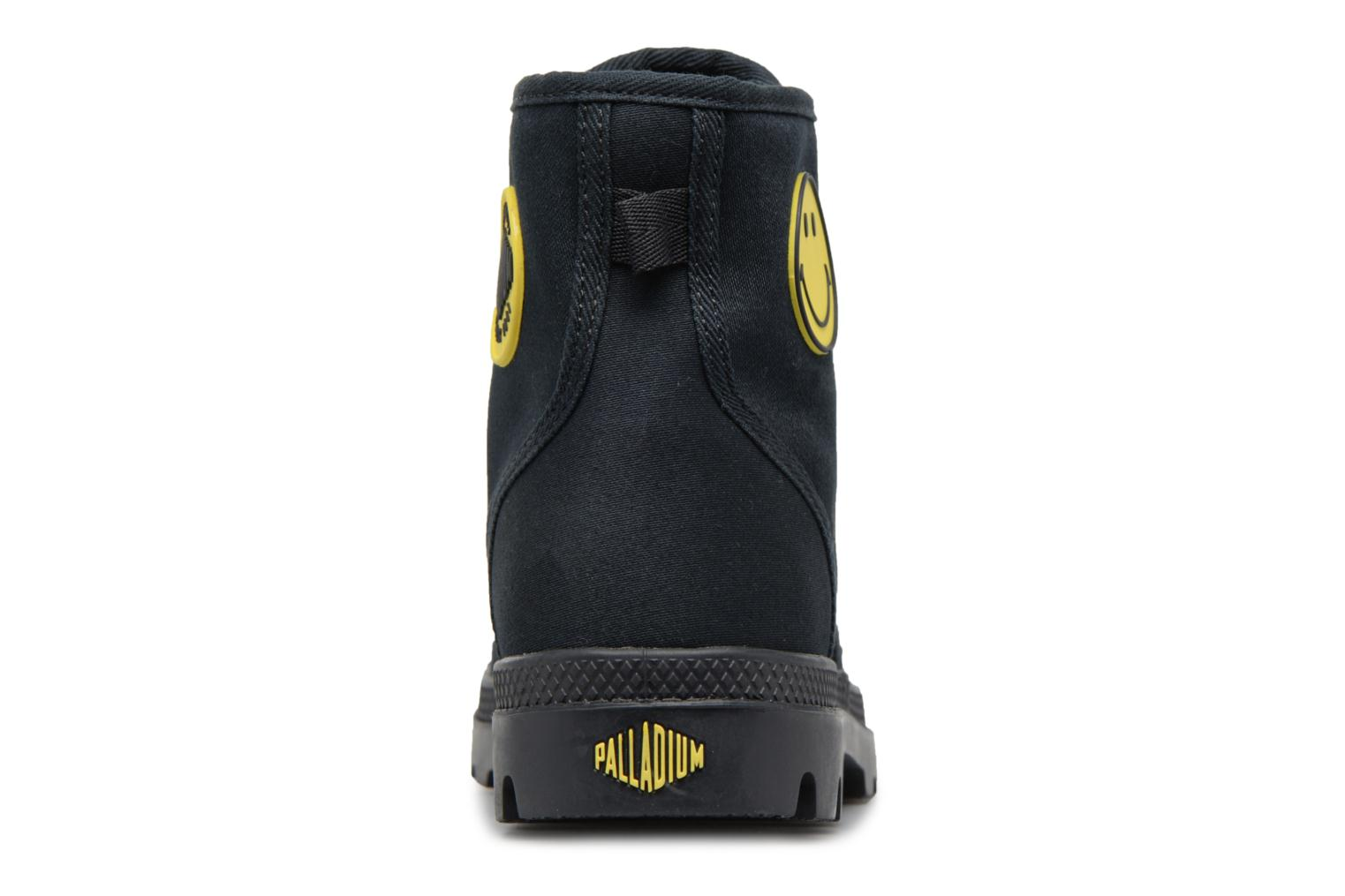Trainers Palladium Pampa Fest Pack Black view from the right