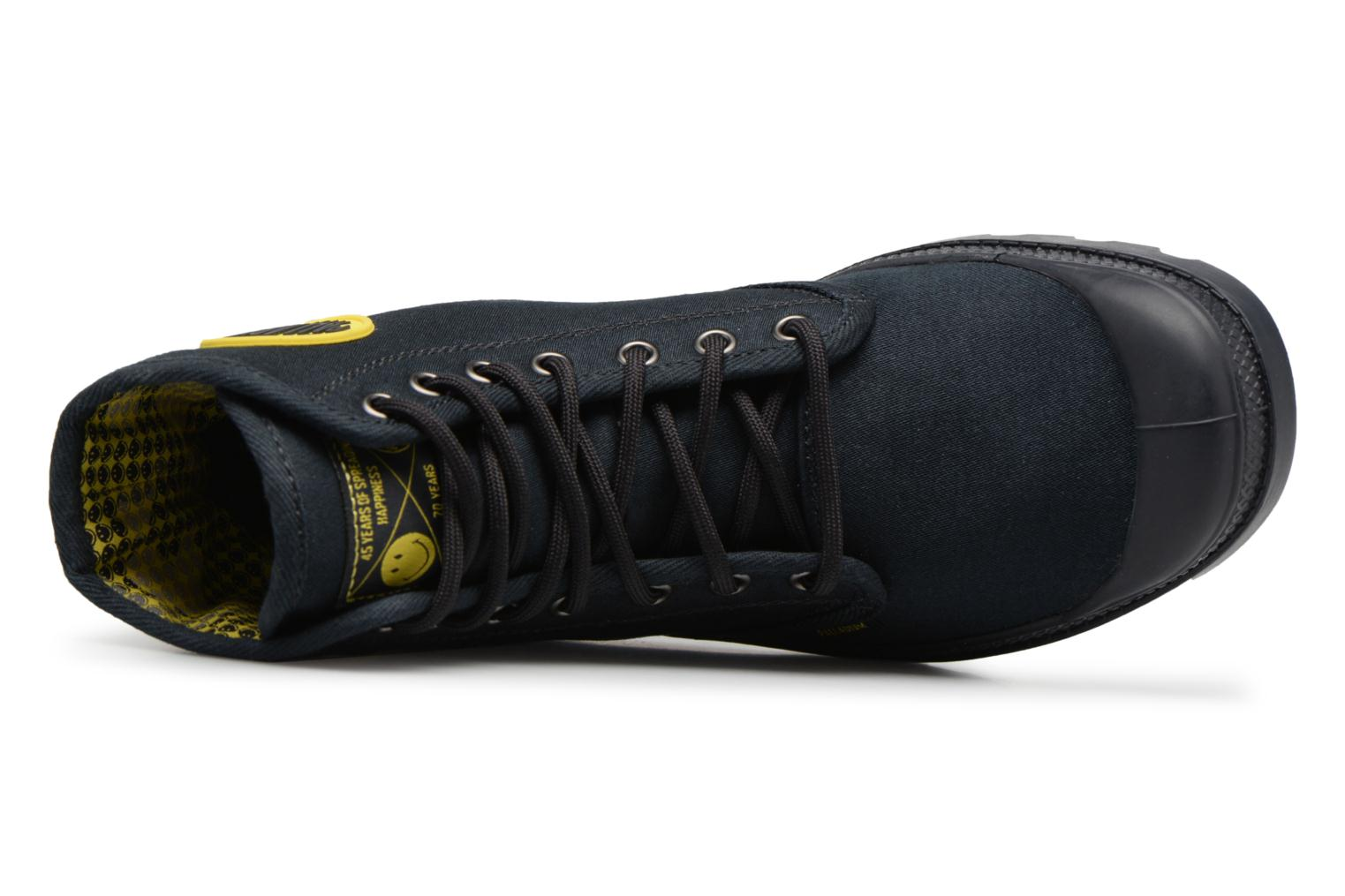 Trainers Palladium Pampa Fest Pack Black view from the left