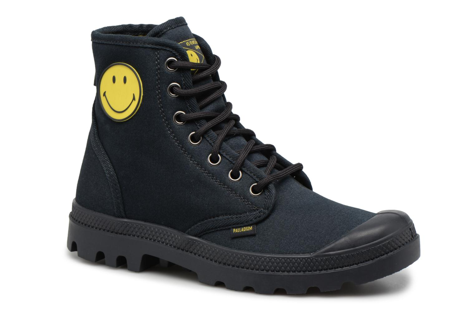 Trainers Palladium Pampa Fest Pack Black detailed view/ Pair view