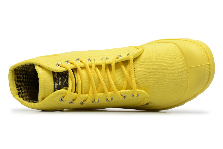 Sneaker Palladium Pampa Fest Pack gelb ansicht von links