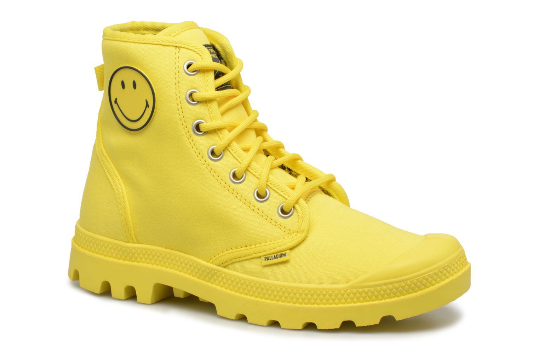 Sneaker Palladium Pampa Fest Pack gelb detaillierte ansicht/modell