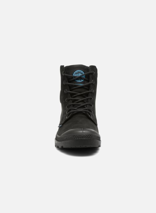 Ankle boots Palladium Pampa Cuff WP LUX W Black model view