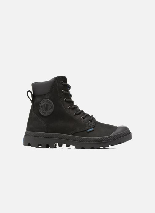 Ankle boots Palladium Pampa Cuff WP LUX W Black back view