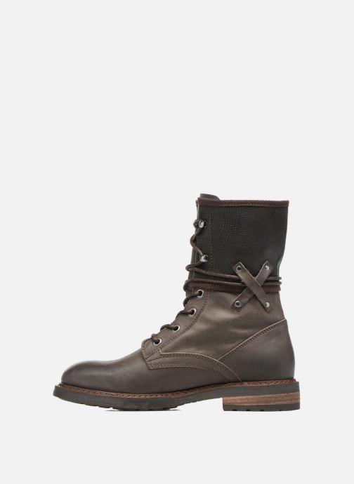 Bottines et boots P-L-D-M By Palladium Bupswing Mix Marron vue face