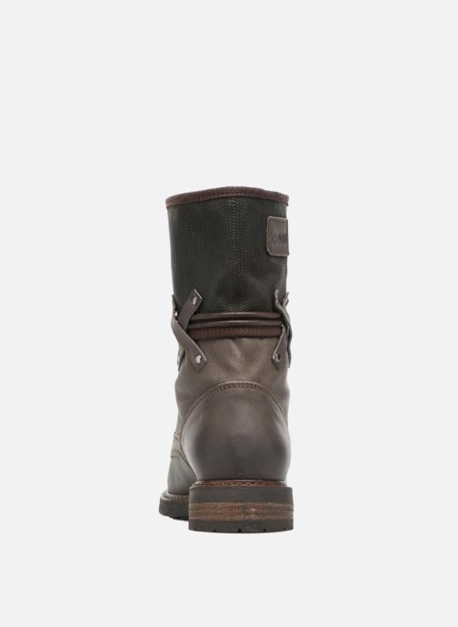 Ankle boots P-L-D-M By Palladium Bupswing Mix Brown view from the right