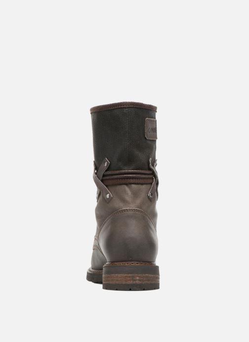 Bottines et boots P-L-D-M By Palladium Bupswing Mix Marron vue droite