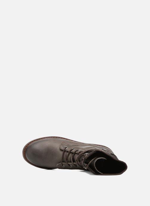 Stiefeletten & Boots P-L-D-M By Palladium Bupswing Mix braun ansicht von links