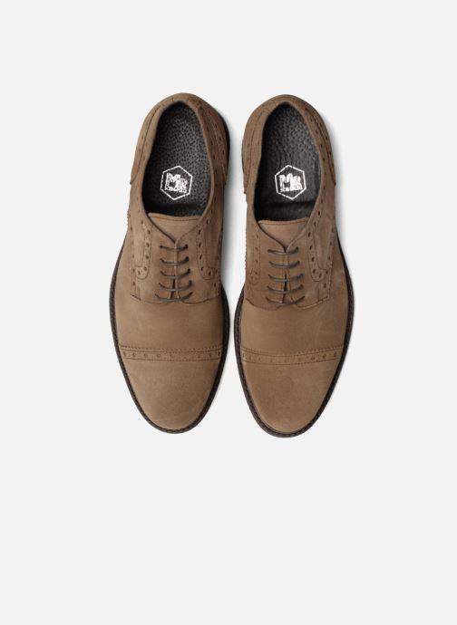 Zapatos con cordones Mr SARENZA Clent Beige vista del modelo
