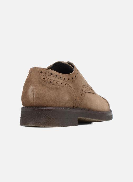 Zapatos con cordones Mr SARENZA Clent Beige vista de frente