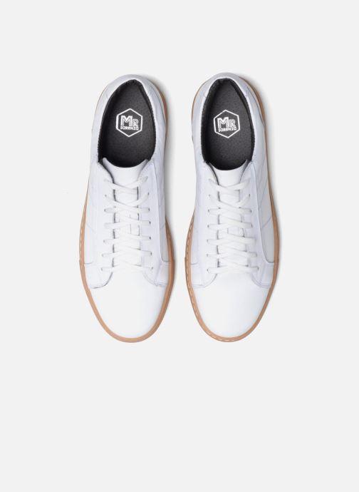 Baskets Mr SARENZA Carlson Blanc vue portées chaussures