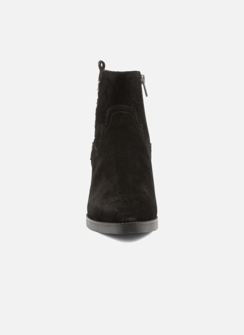 Bottines et boots Ash Goldie Noir vue portées chaussures