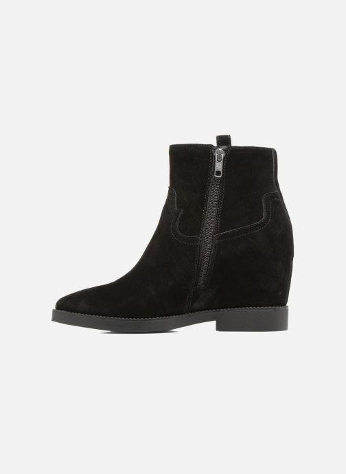 Bottines et boots Ash Goldie Noir vue face