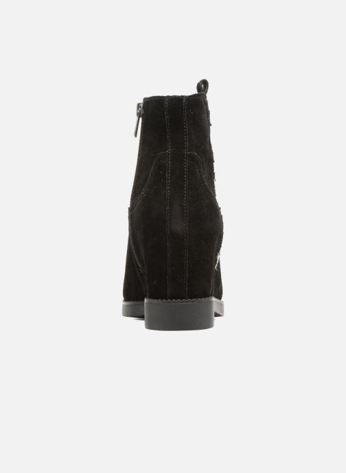 Bottines et boots Ash Goldie Noir vue droite