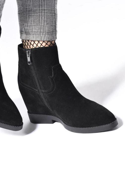 Bottines et boots Ash Goldie Marron vue bas / vue portée sac