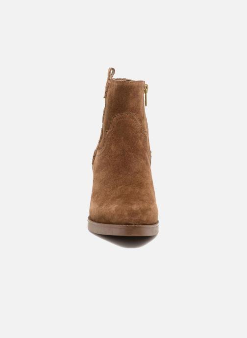 Bottines et boots Ash Goldie Marron vue portées chaussures