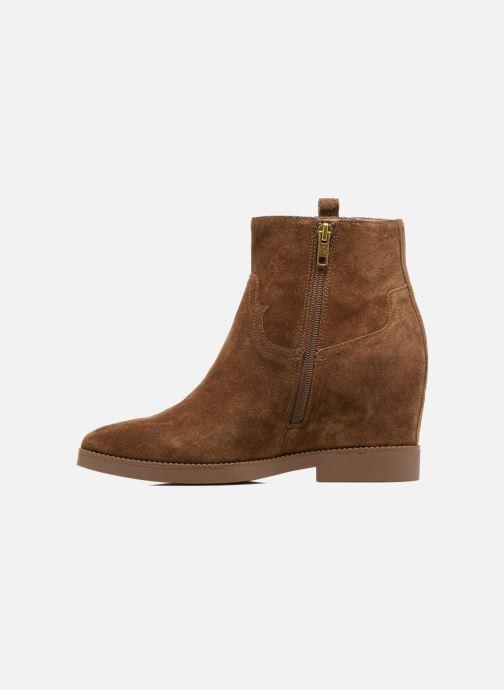 Boots en enkellaarsjes Ash Goldie Bruin voorkant