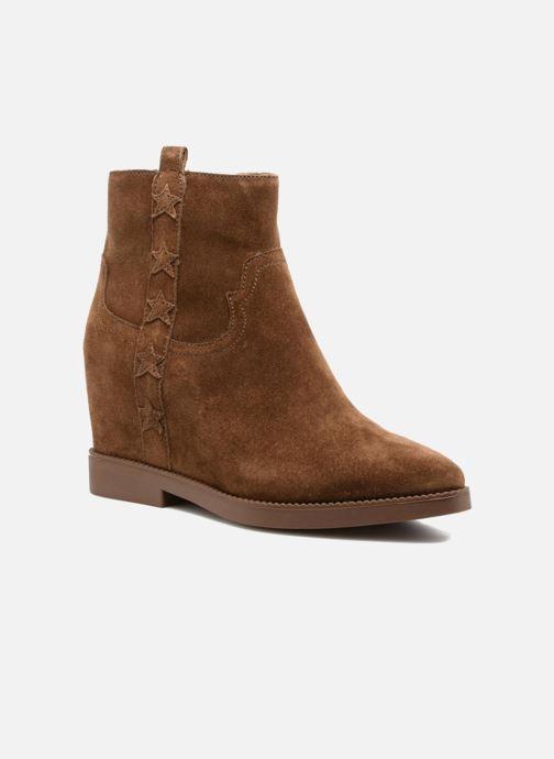 Bottines et boots Ash Goldie Marron vue détail/paire