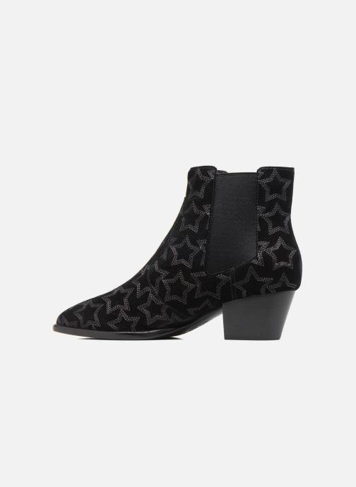 Bottines et boots Ash Hope Star Noir vue face