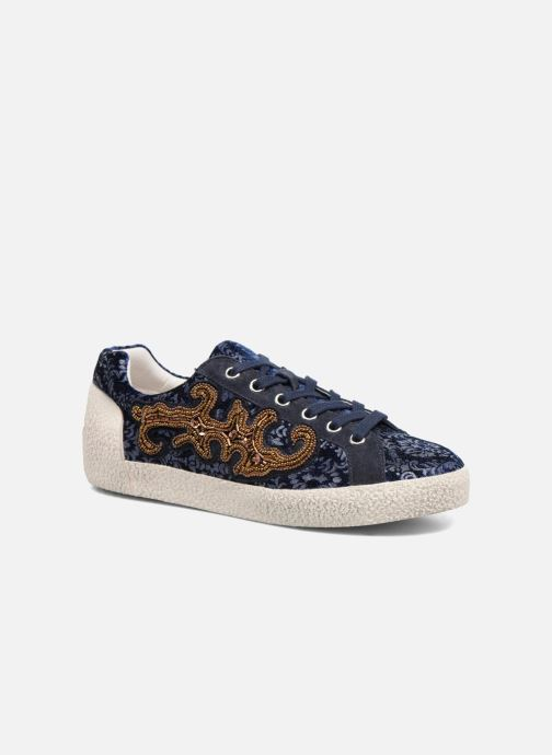 Sneakers Ash Nymphea Blauw detail