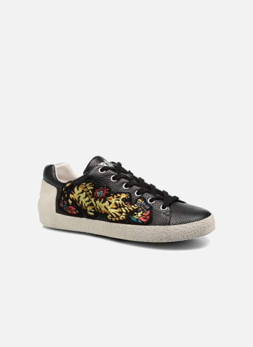 Sneakers Ash Niagara Zwart detail