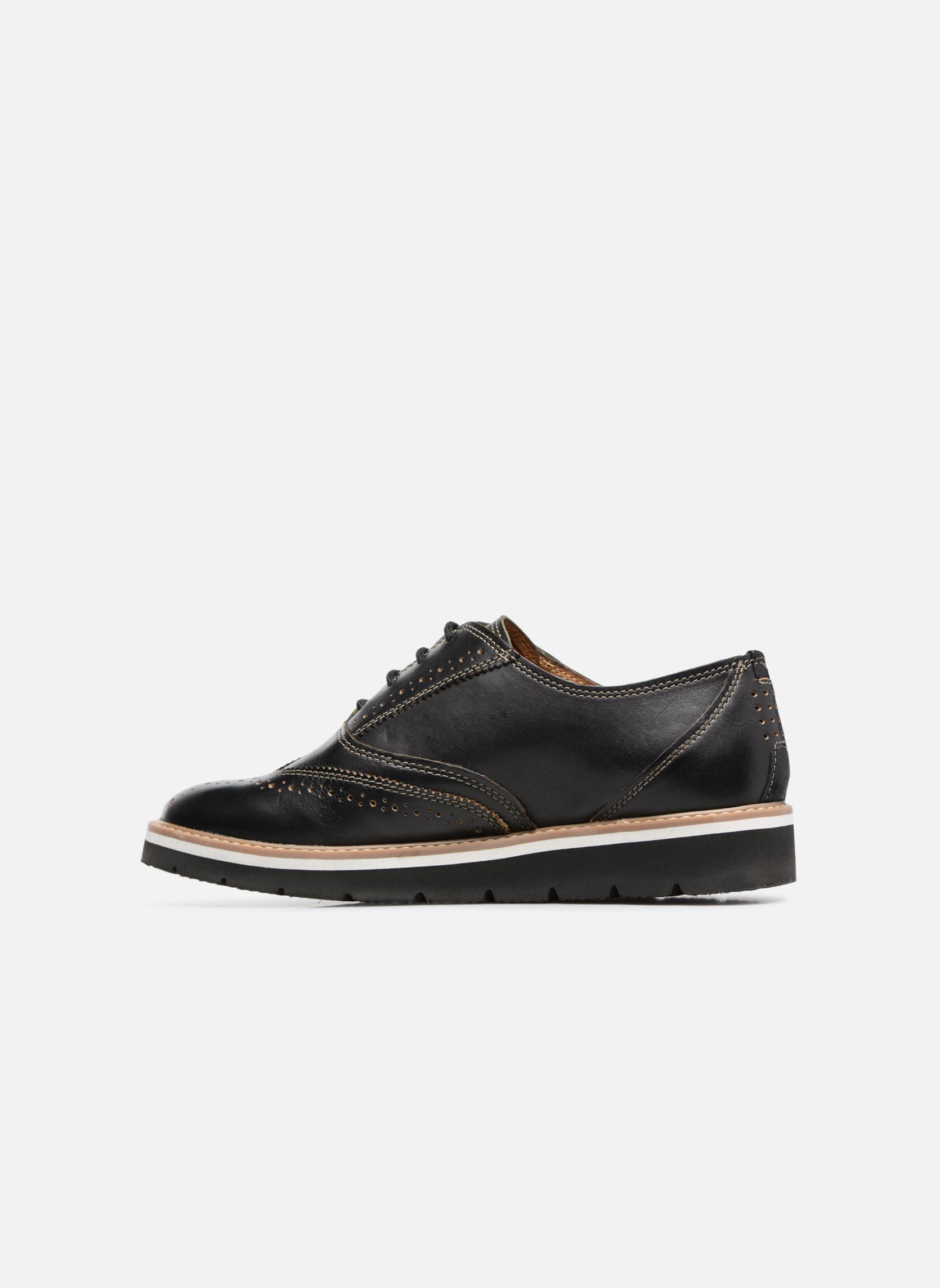 Chaussures à lacets TBS Calissa Noir vue face
