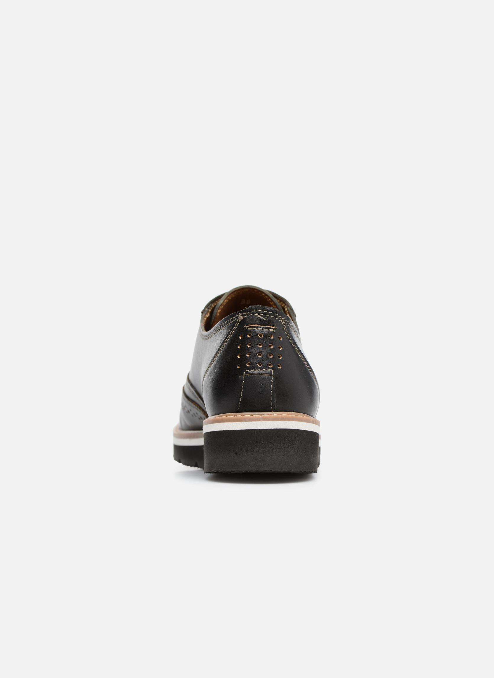 Chaussures à lacets TBS Calissa Noir vue droite