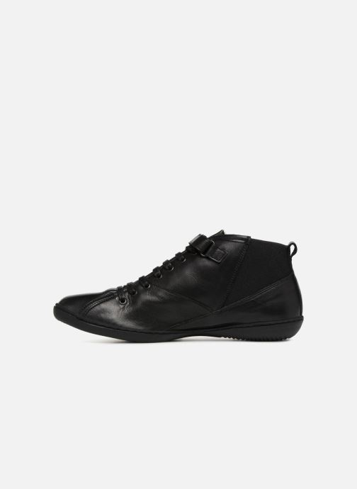 Sneakers TBS Cassiss Sort se forfra