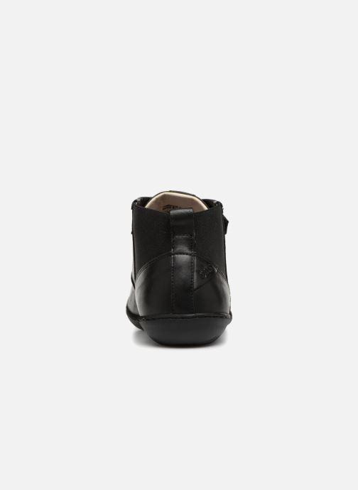 Sneakers TBS Cassiss Sort Se fra højre