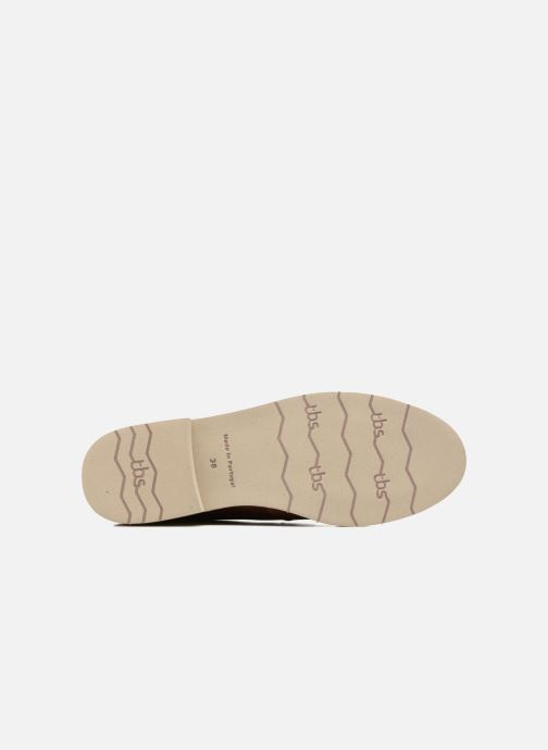 Lace-up shoes TBS Farrah  3 Brown view from above