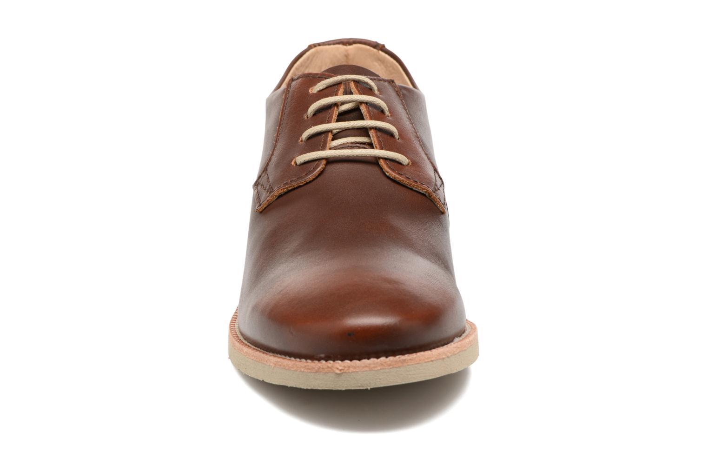 Chaussures à lacets TBS Farrah  3 Marron vue portées chaussures