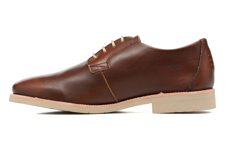 Chaussures à lacets TBS Farrah  3 Marron vue face