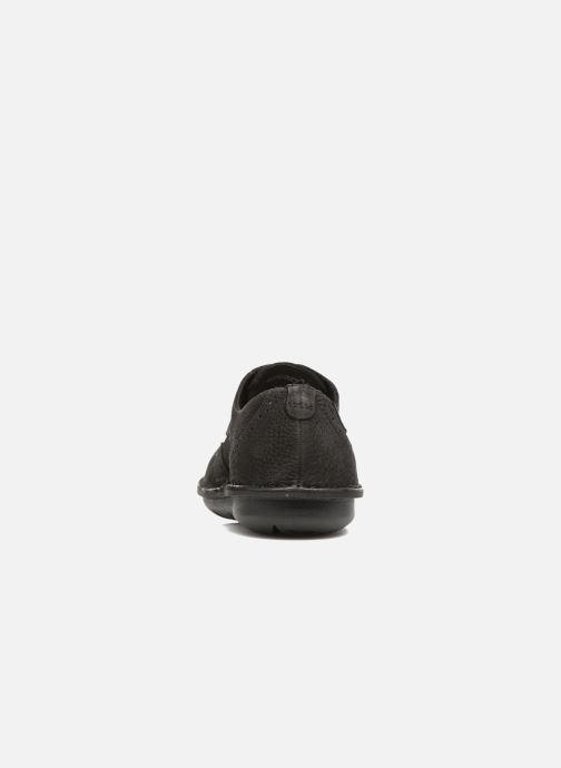Zapatos con cordones TBS Yonkers Negro vista lateral derecha