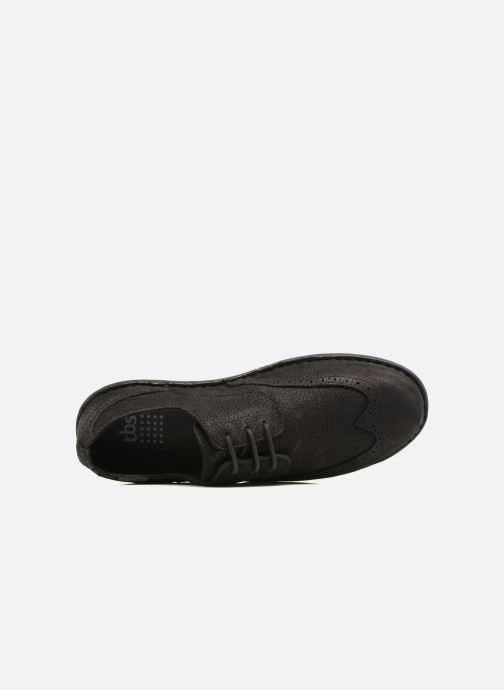 Lace-up shoes TBS Yonkers Black view from the left