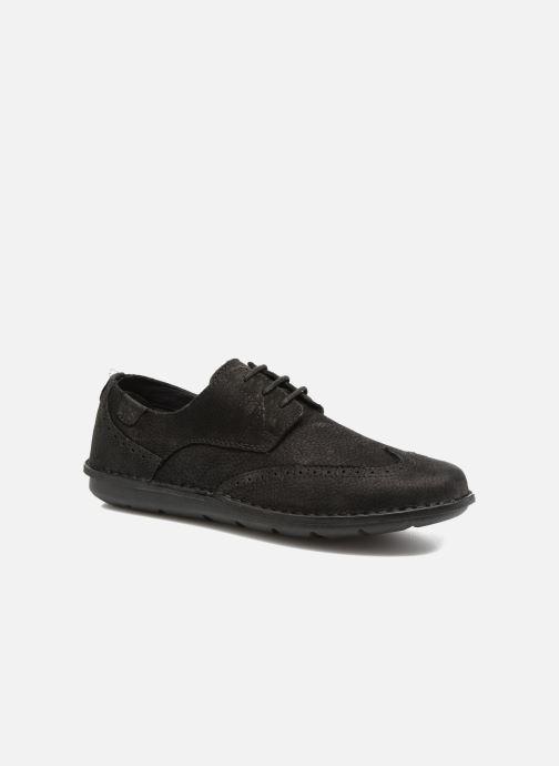 Zapatos con cordones TBS Yonkers Negro vista de detalle / par
