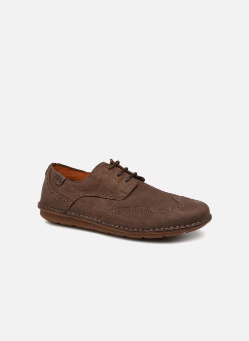 sports shoes 92ae6 23727 Chaussures à lacets TBS Yonkers Marron vue détail paire